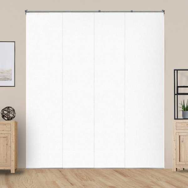 Chicology Performance White Adjustable Sliding Panels - up to 80' x 96'
