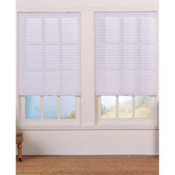 White Light Filtering Pleated Shade (48-inches long)