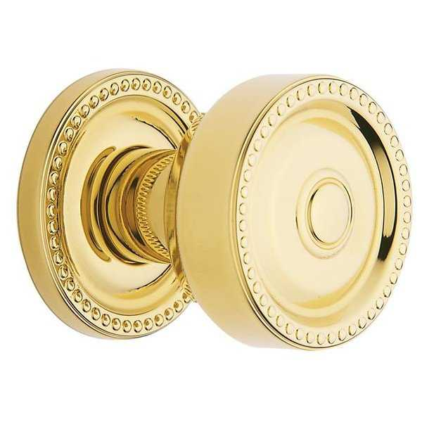 Baldwin 5065031MR Non Lacquered Brass Estate Knobs without Rosettes