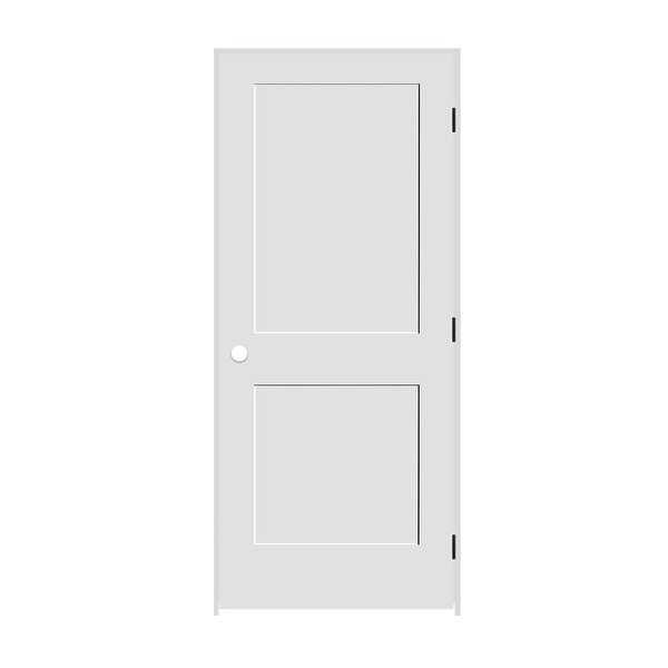 Trimlite 2268138-8402LH1D6916 26' by 80' Shaker 2-Panel Left Handed Interior Pre - Primed - N/A