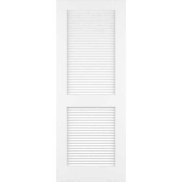 Frameport CLS-PD-L-6-2/3X3 Classic 36' by 80' Louver/Louver Interior Passage Door - N/A